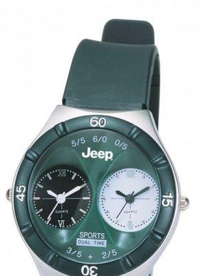Reloj deportivo grabado con tampografía para Jeep
