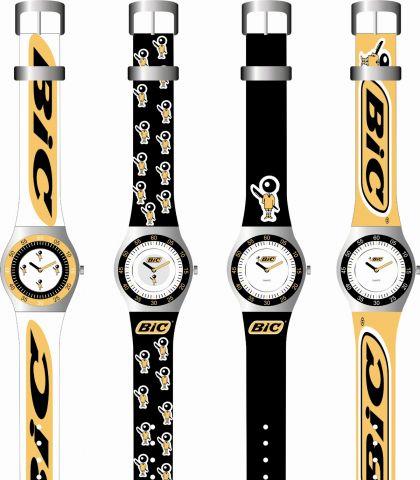 Relojes personalizados por tampografía y láser