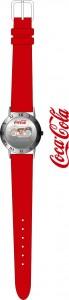 reloj promocional de cocacola tampografía y grabacion con laser