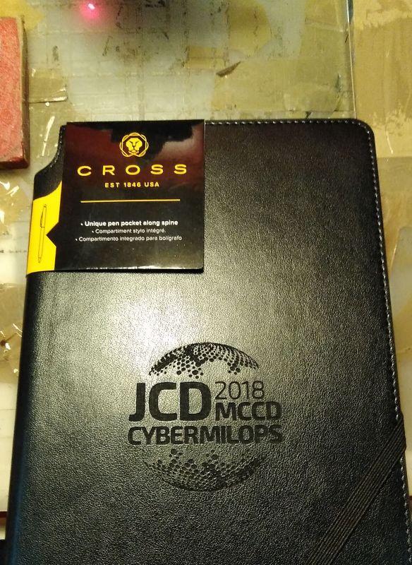 Grabación de agenda para regalo ed JCD CYBERMILOPS