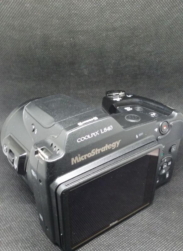 Grabación de camara de fotos nikon como regalo publicitario