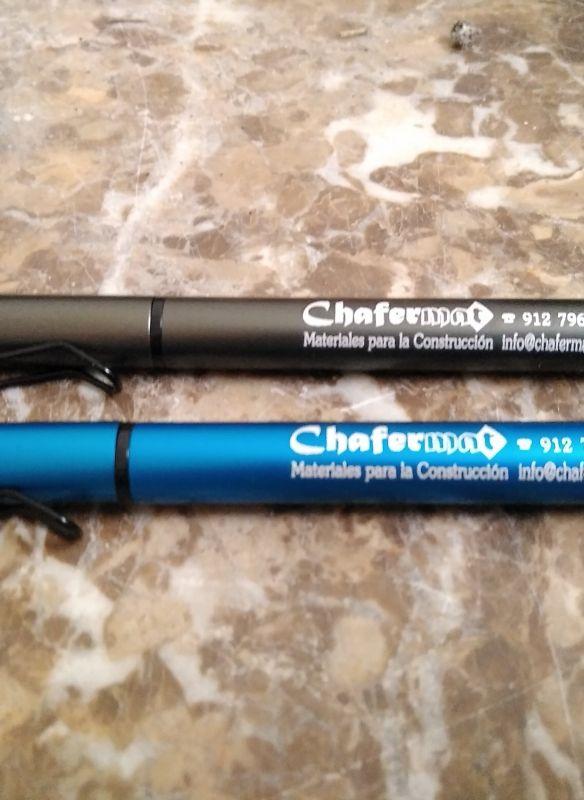 Bolígrafo de empresa personalizado