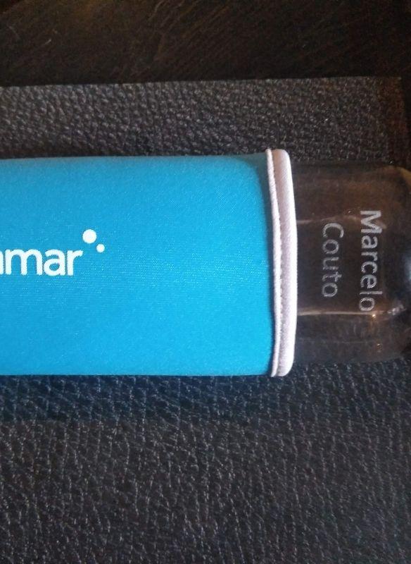 grabación de botella de cristal deporte con maquina de grabado laser de co2 y personalización regalo empresa