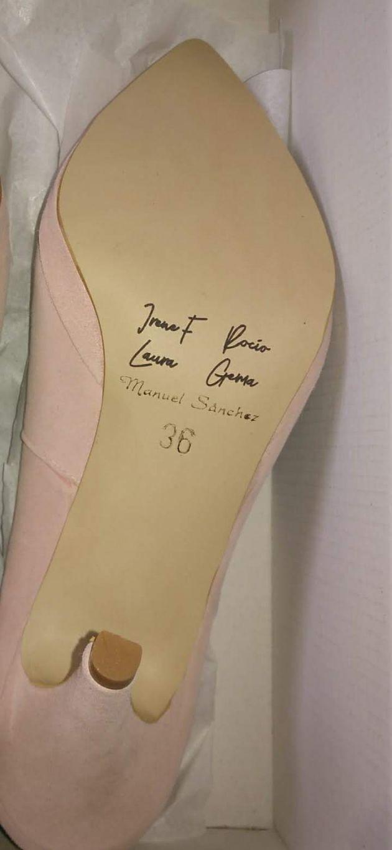 Zapato boda madrinas grabación laser personalizados zapatos